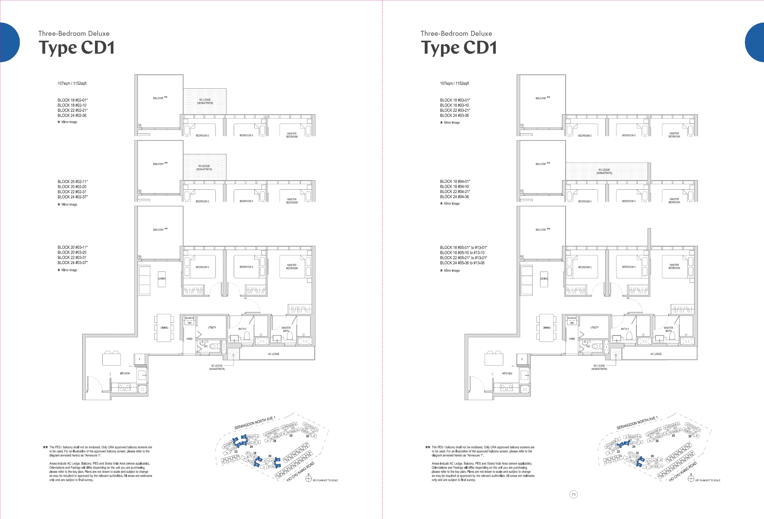 Affinity at Serangoon Floorplan