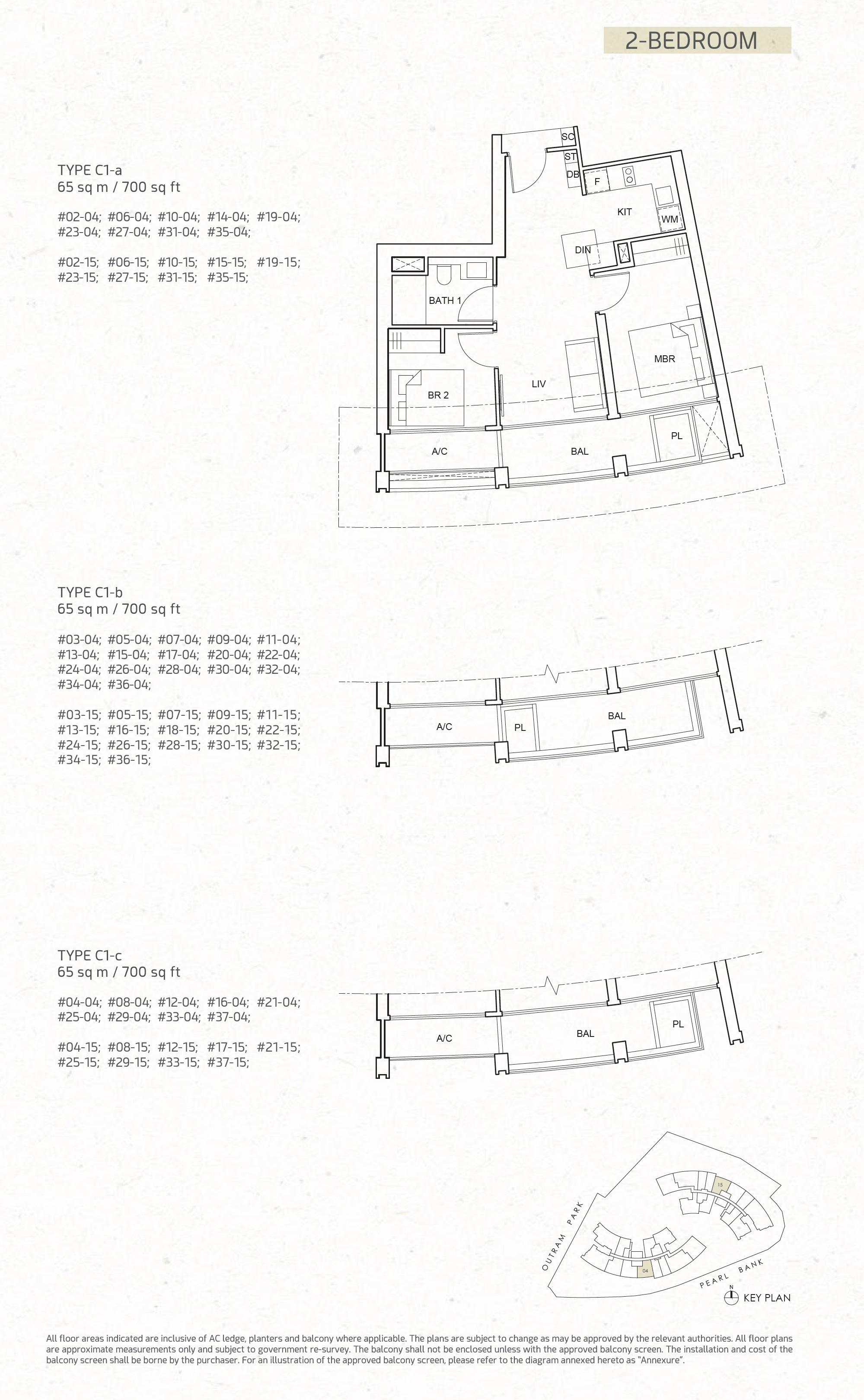 One Pearl Bank Floorplan