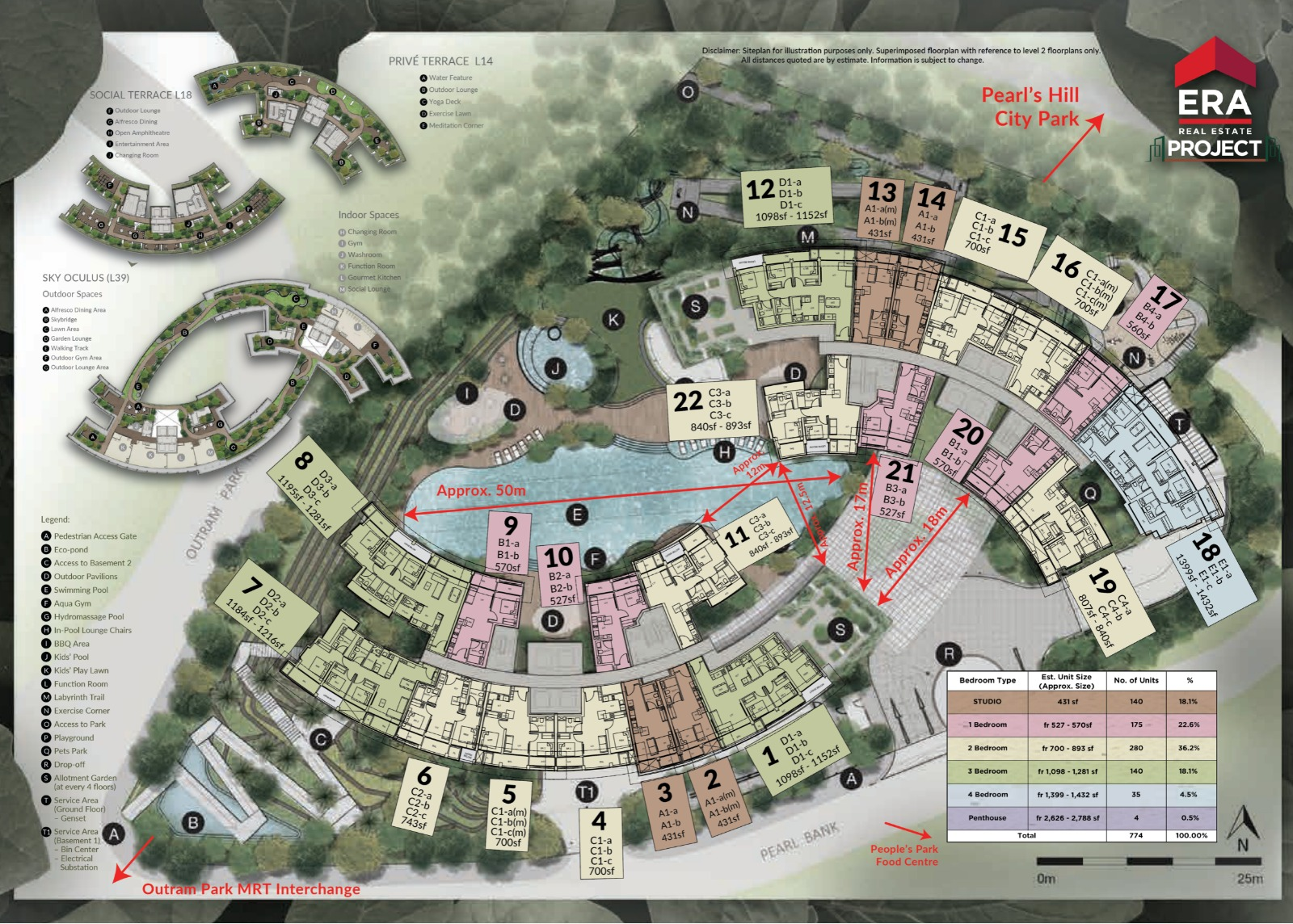 One Pearl Bank Siteplan