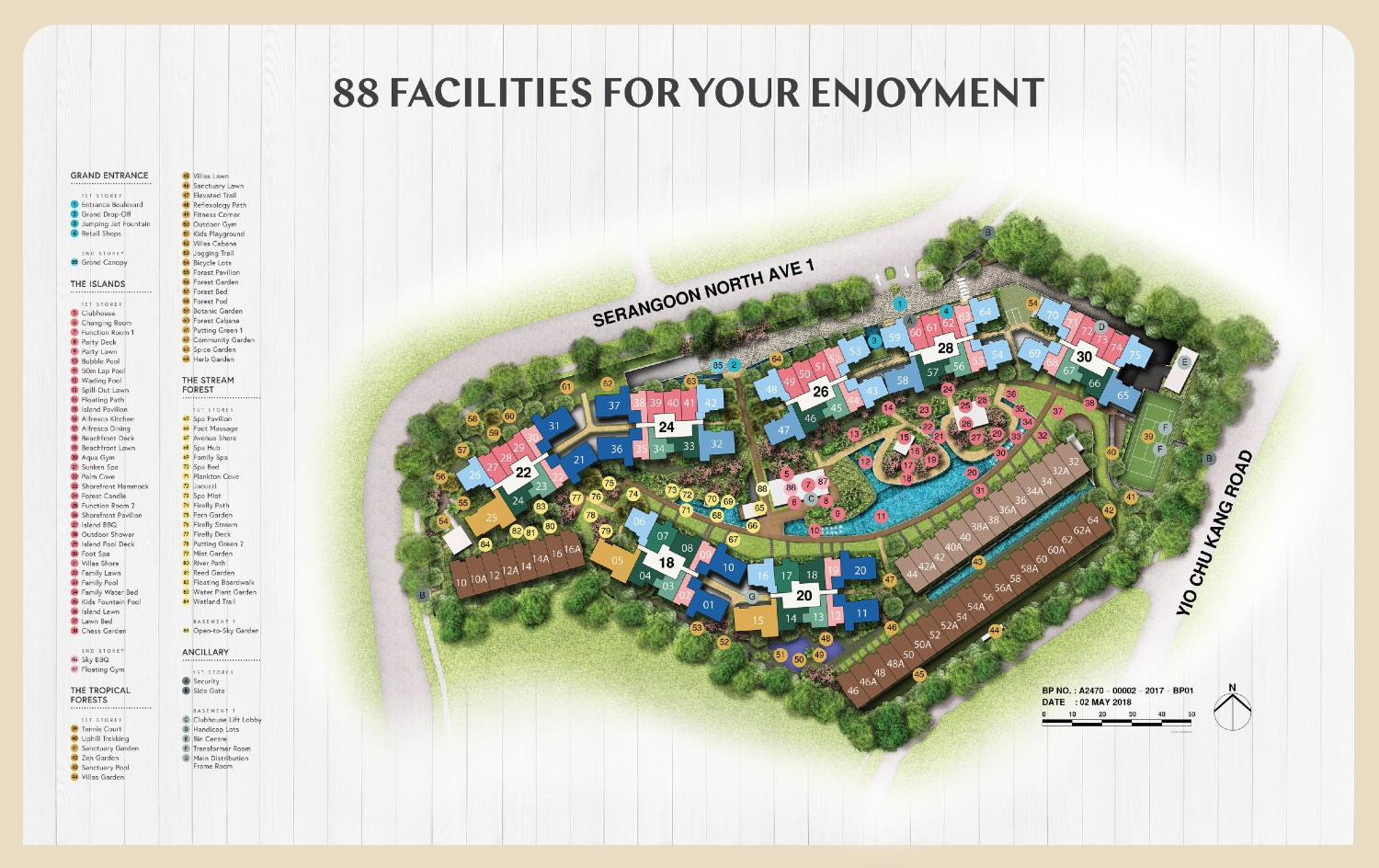 Affinity at Serangoon Siteplan