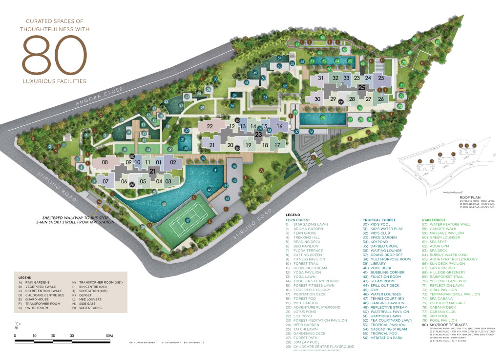 Stirling Residences Siteplan