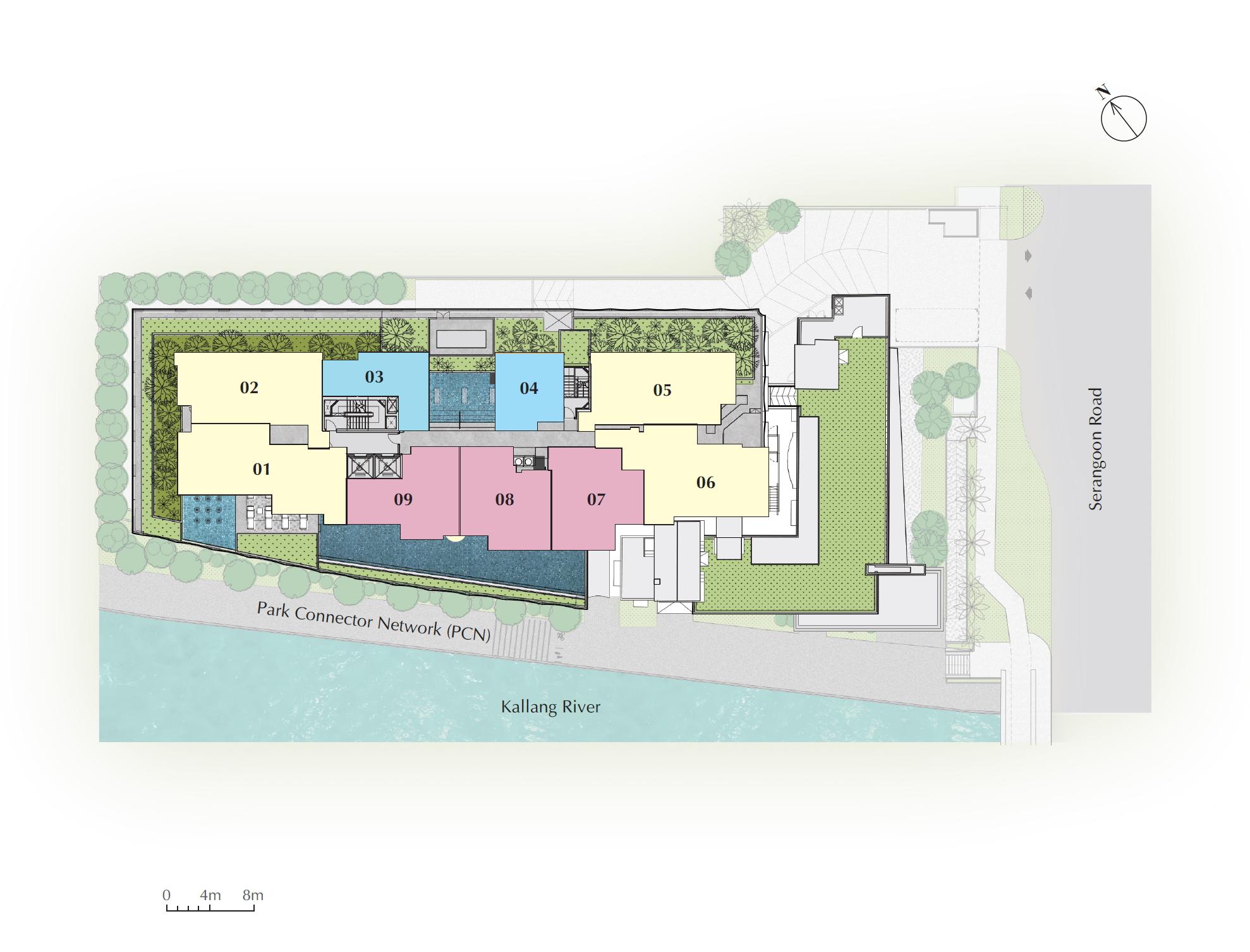 Jui Residences Siteplan