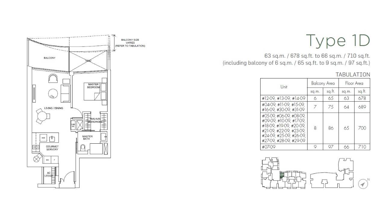 Marina One Residences Floorplan