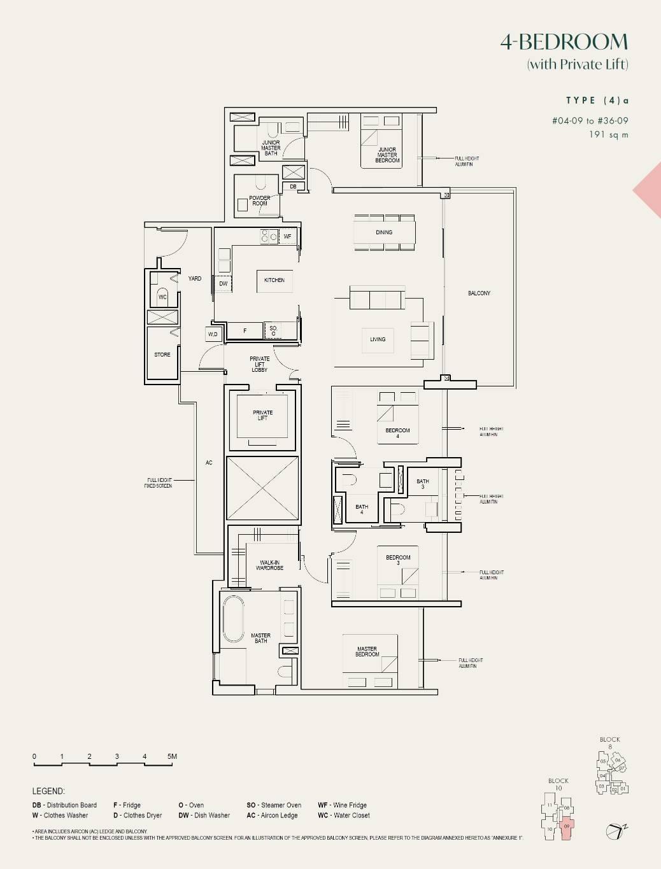 The Avenir Floorplan
