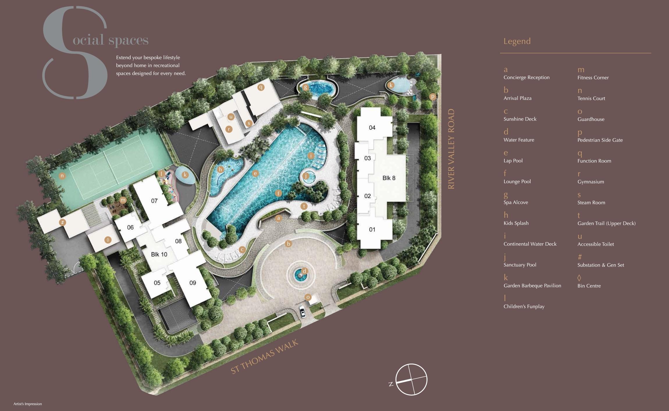 8 St Thomas Siteplan