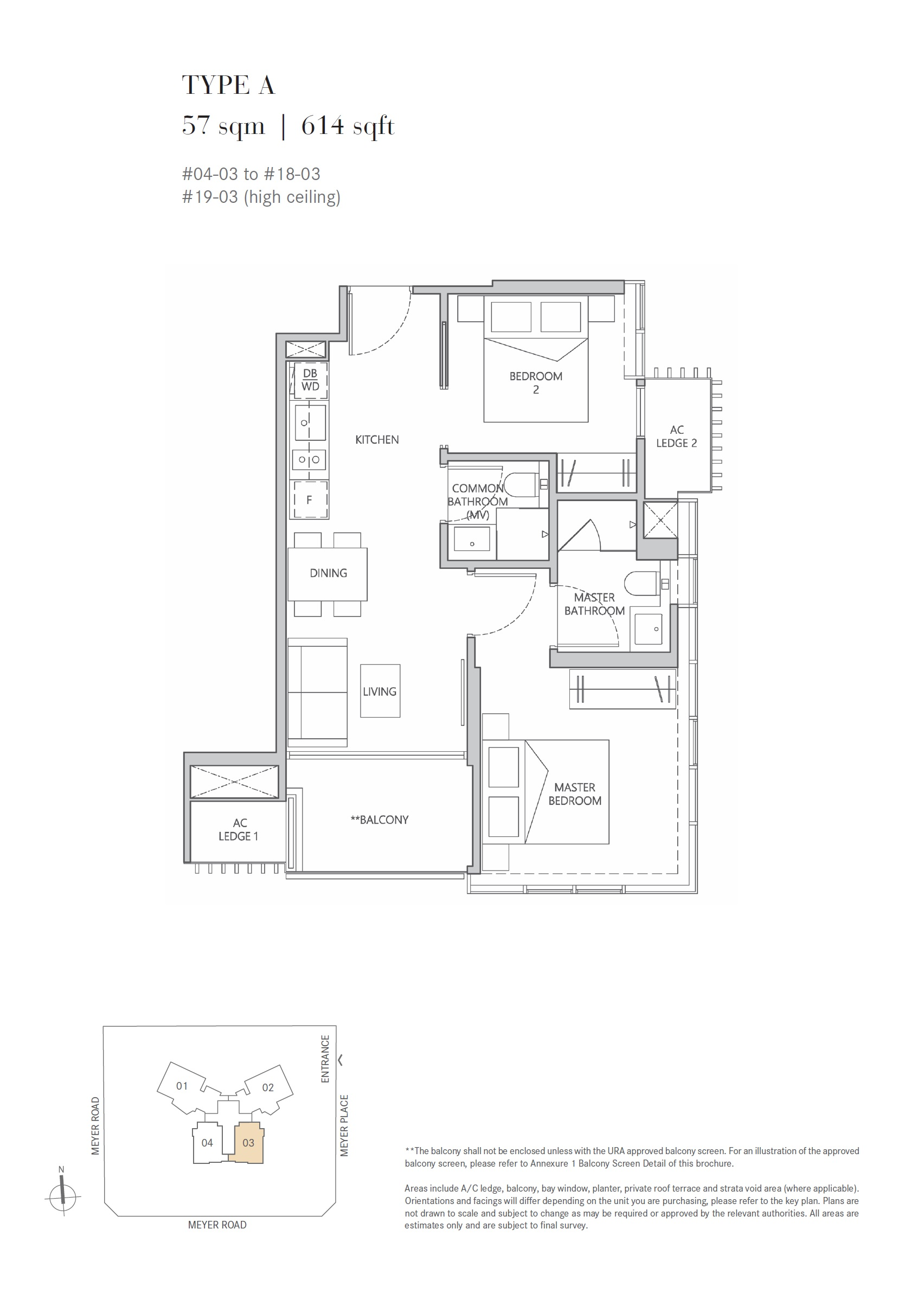One Meyer Floorplan