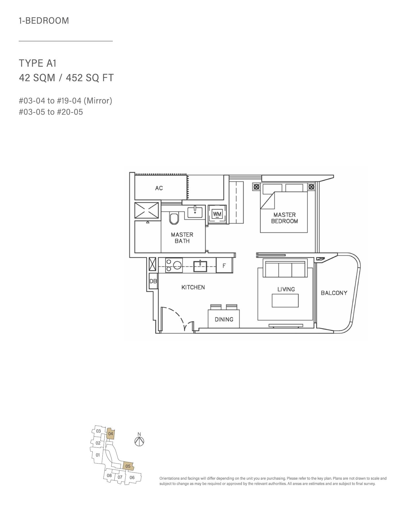 Coastline Residences Floorplan