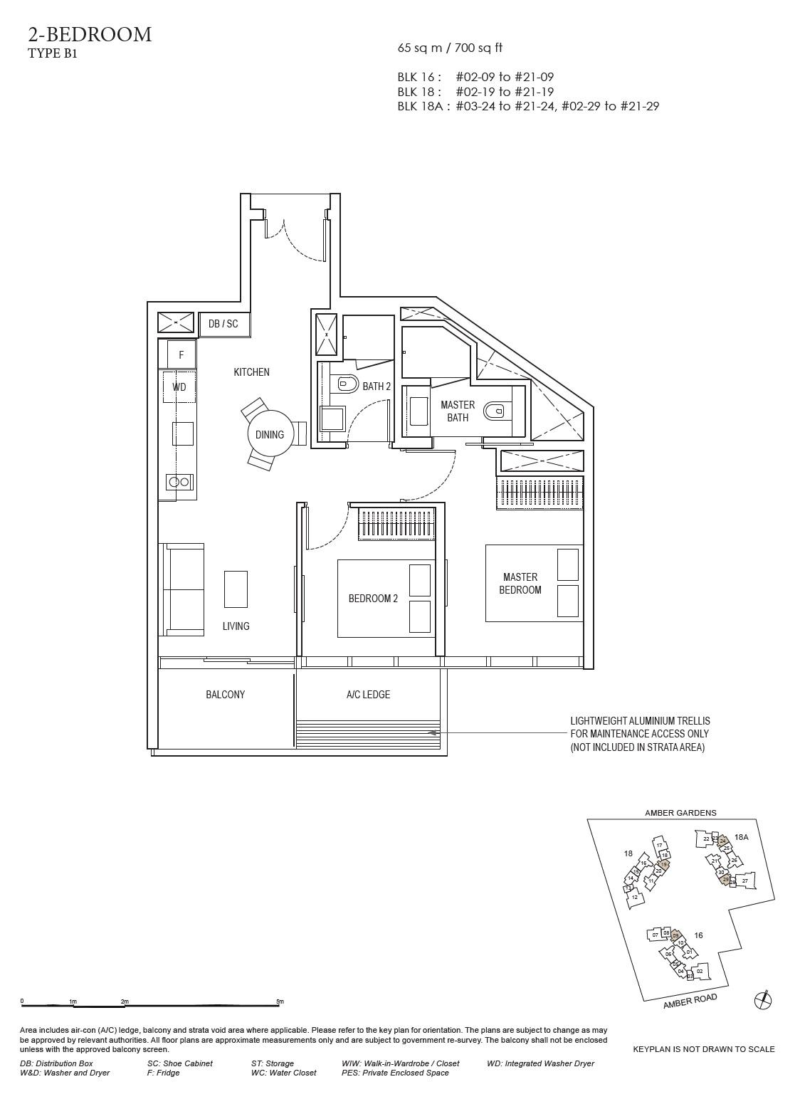 Amber Park Floorplan