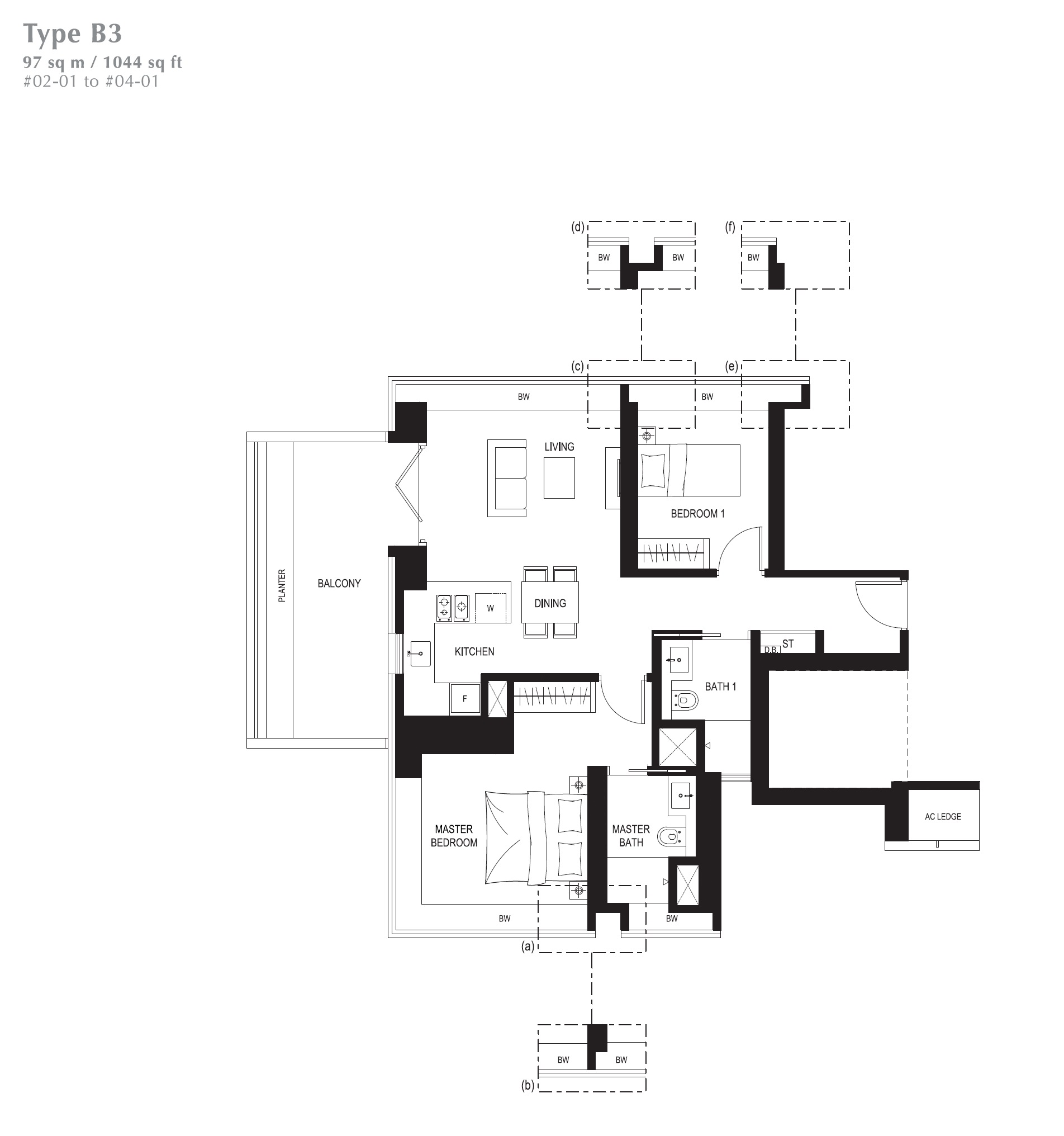 8 St Thomas Floorplan