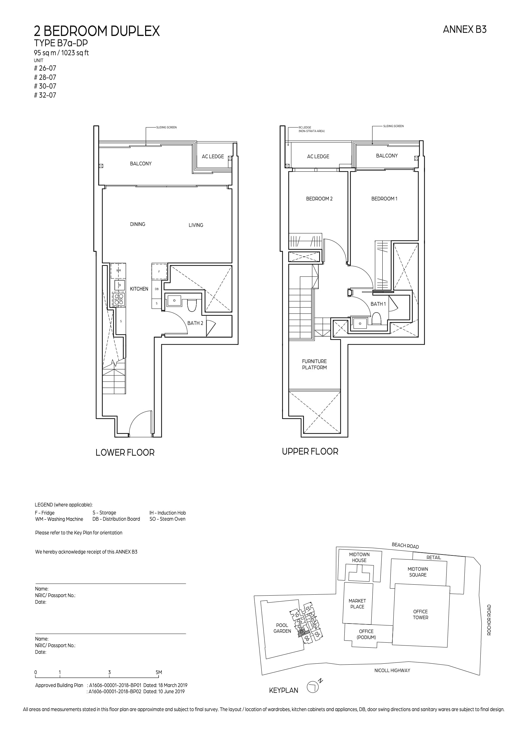 Midtown Bay Floorplan