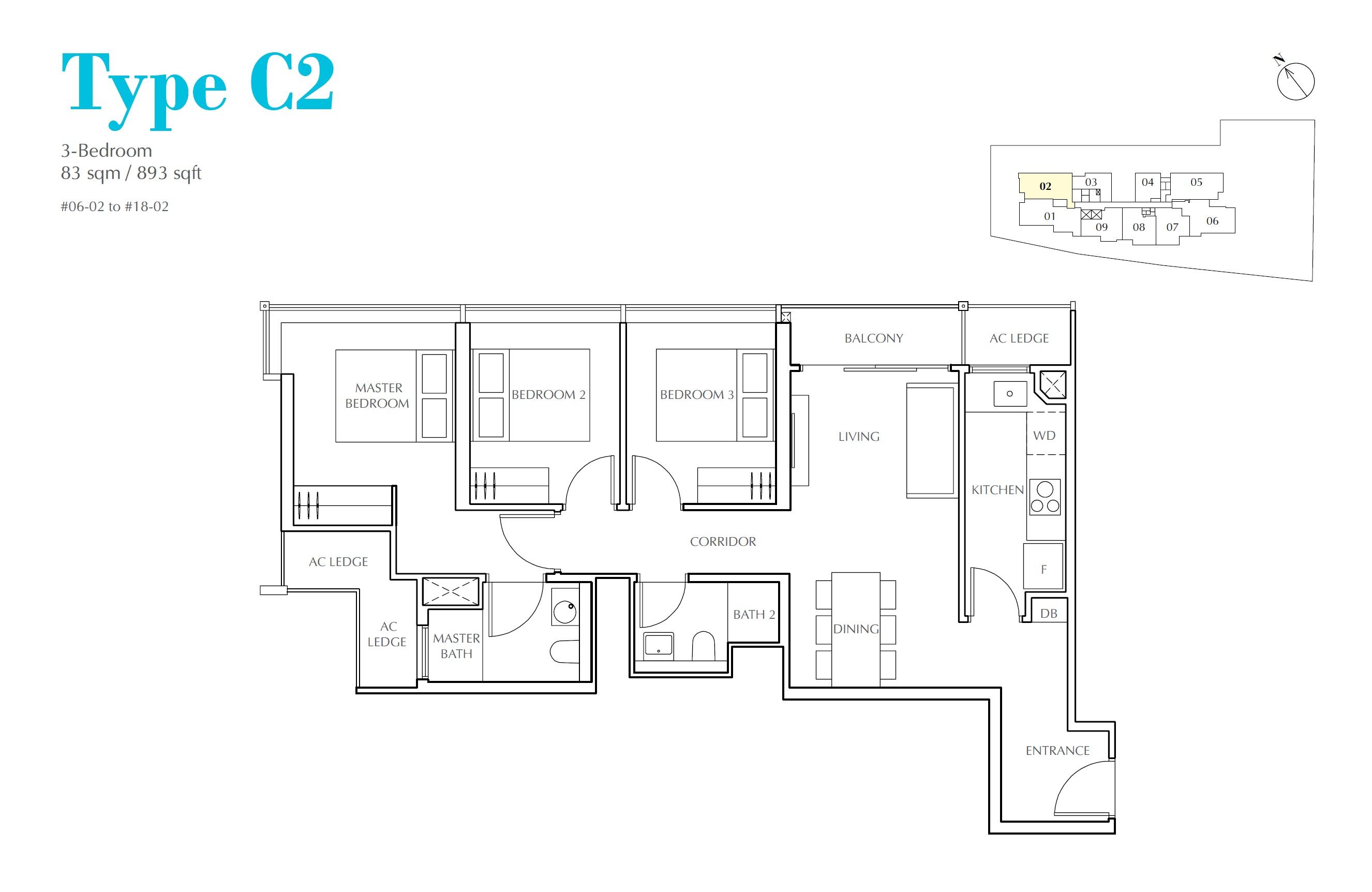 Jui Residences Floorplan