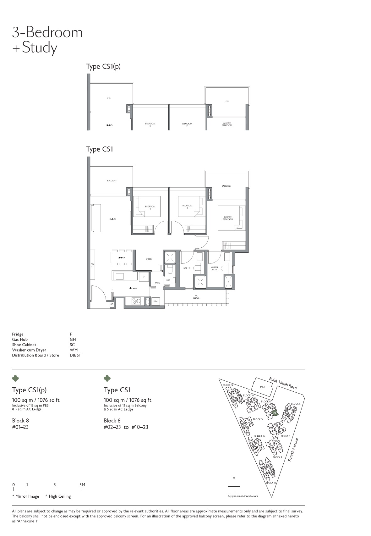 Fourth Avenue Residences Floorplan