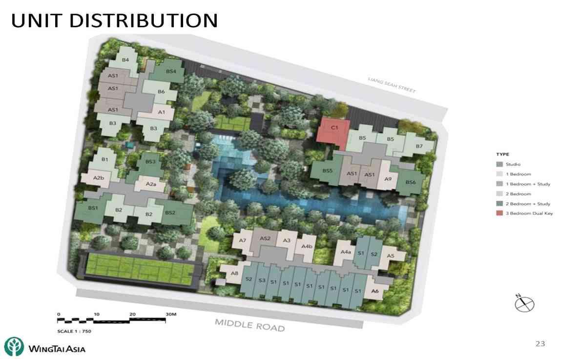 The M Siteplan