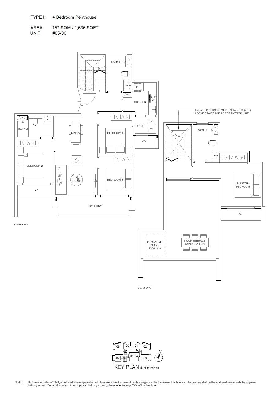 Infini at East Coast Floorplan