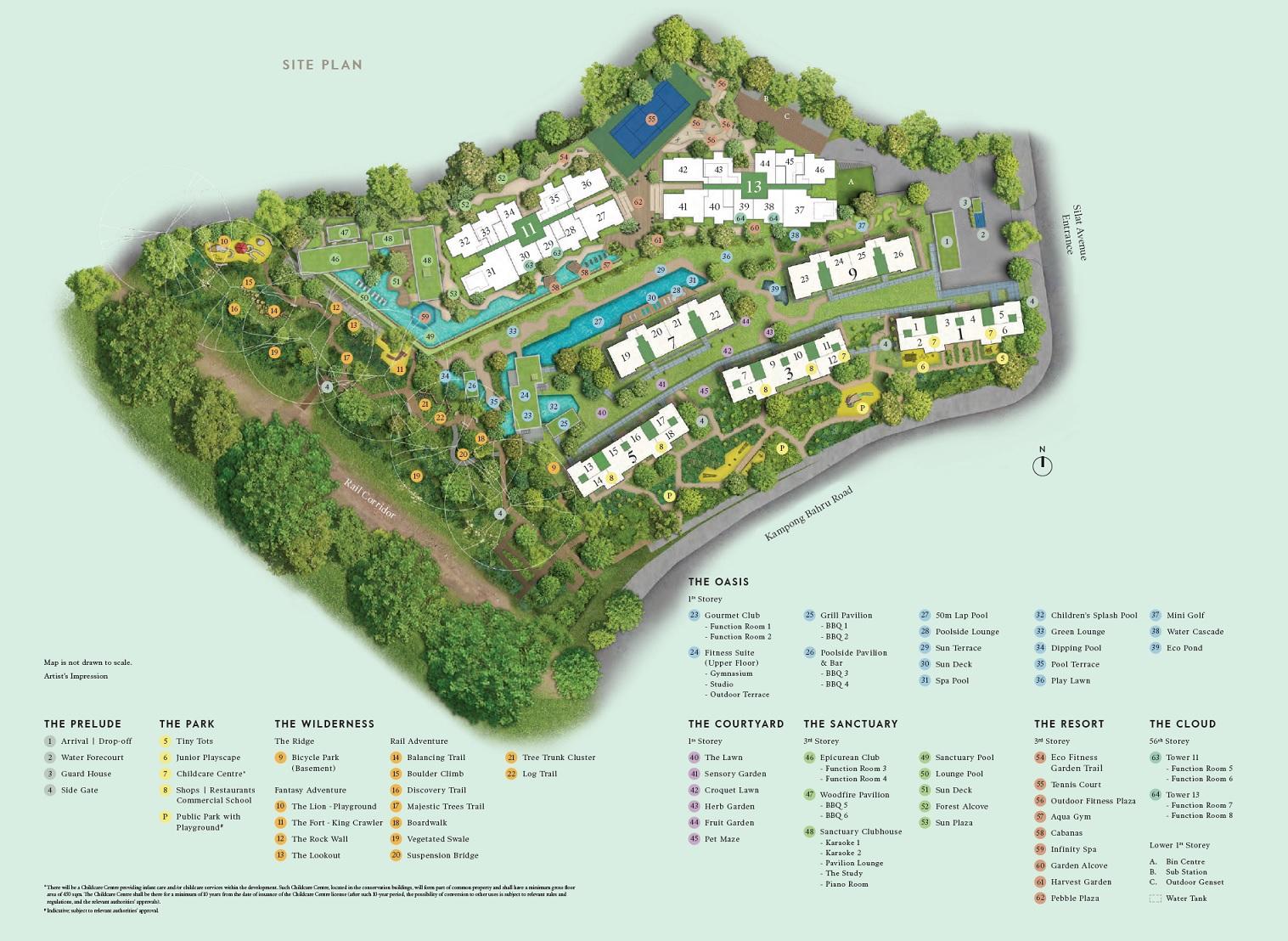 Avenue South Residence Siteplan