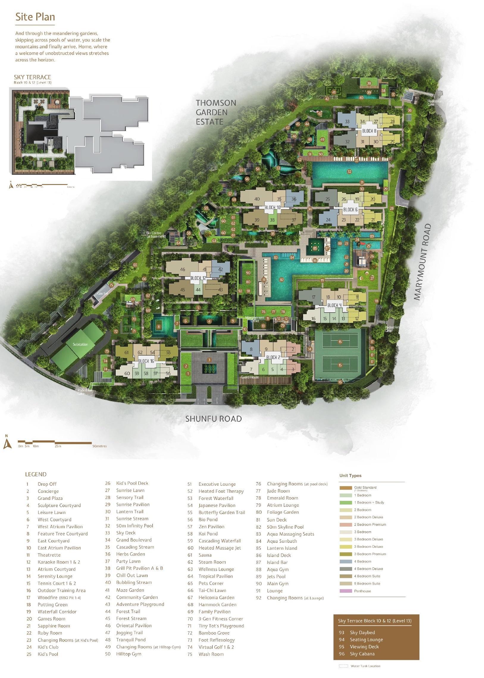 JadeScape Siteplan