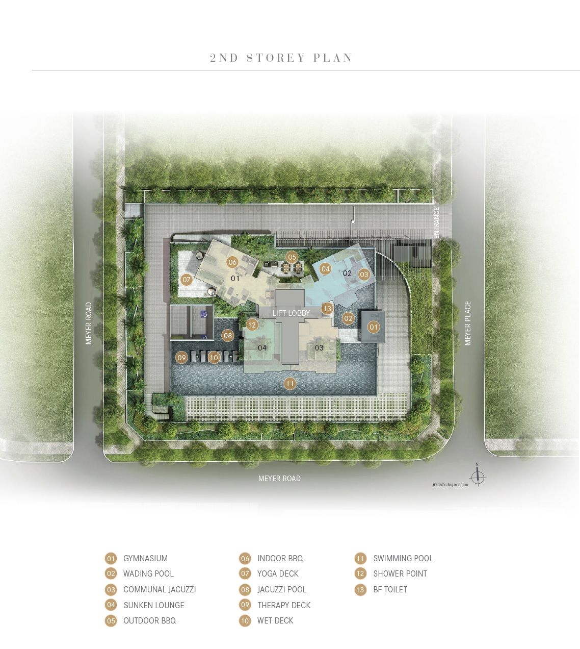 One Meyer Siteplan