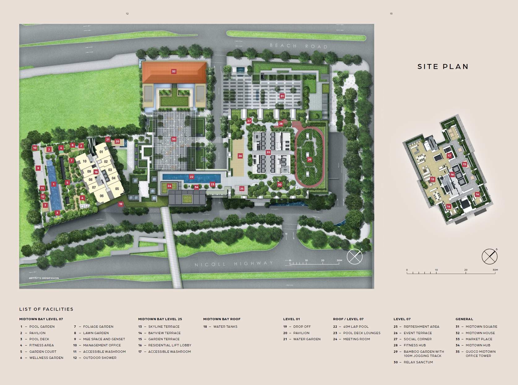 Midtown Bay Siteplan