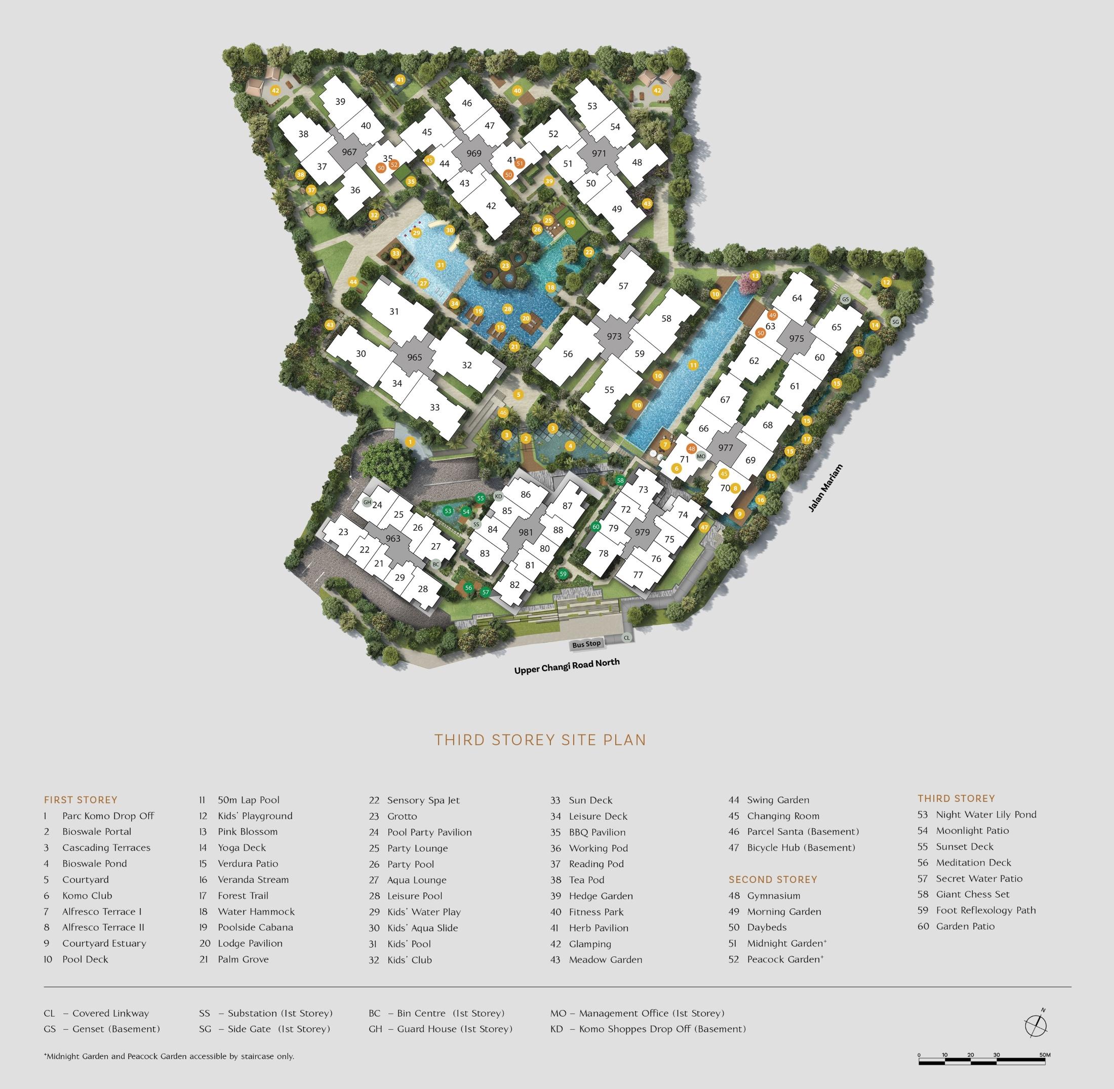 Parc Komo Siteplan