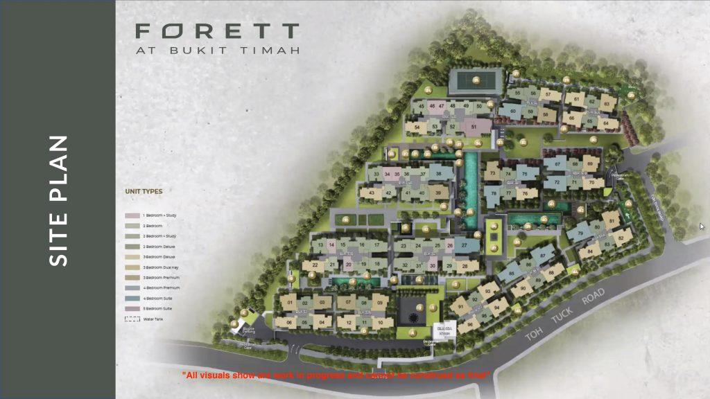Forett at Bukit Timah Siteplan